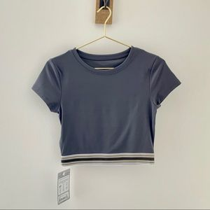 LORNA JANE Here and There Active Crop Tee